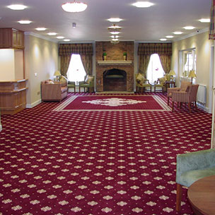 Golf Club Charthills, axminster Wilton Carpets